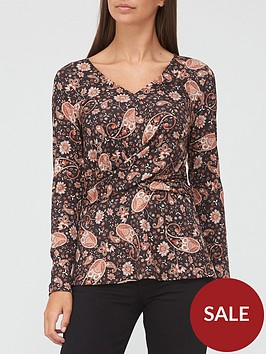 v-by-very-long-sleeve-wrap-top-blackpaisley
