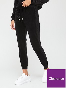 v-by-very-side-stripe-lace-detail-joggers-black