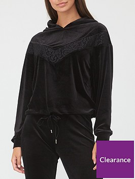 v-by-very-lace-detail-pullover-hoodie-black