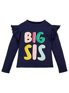 v-by-very-girls-big-sister-t-shirt-navy