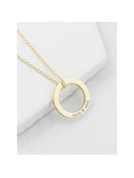 Treat Republic Treat Republic Personalised Family Ring Necklace Picture