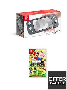 nintendo-switch-lite-nintendo-switch-lite-grey-console-with-new-super-mario-bros-u-deluxe