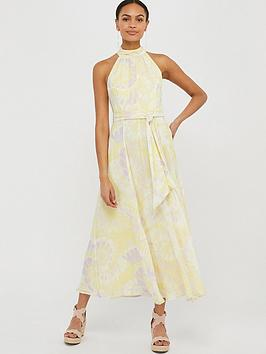 Monsoon Monsoon Tori Tie Dye Sustainable Dress - Yellow Picture