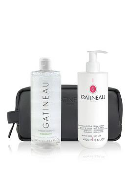 Gatineau Aha Body Lotion &Amp; Shower Gel Duo