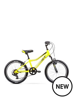 romet-rambler-20-inch-boys-alloy-mtb-front-suspension-yellow