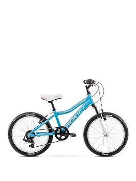 Romet Romet Jolene 20 Inch Girls Alloy Mtb Front Suspension - Blue Picture