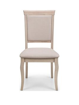 Julian Bowen Julian Bowen Set Of 2 Lyon Dining Chairs Picture