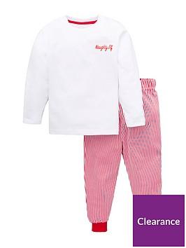 v-by-very-boys-family-christmas-elf-stripe-pj-set-red