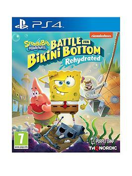 Playstation 4 Spongebob Squarepants: Battle For Bikini Bottom Rehydrated - Ps4