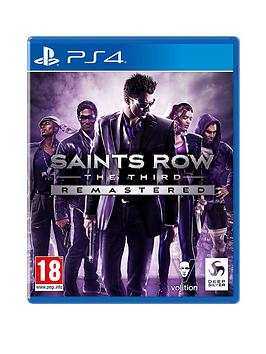 Playstation 4 Playstation 4 Saint'S Row: The Third - Remastered Picture