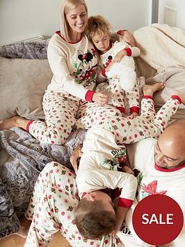 minnie-mouse-girls-minnie-mousenbspchristmas-family-pj-white