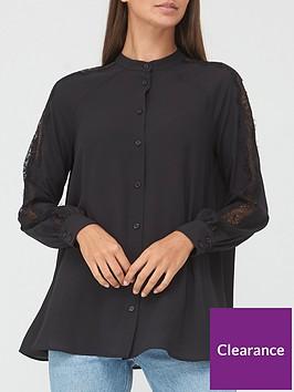 v-by-very-lace-mix-blouse-black