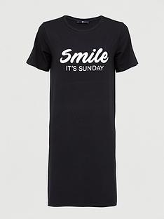 v-by-very-smile-its-sunday-nightie-black