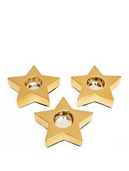 set-of-3-gold-star-tealight-holders