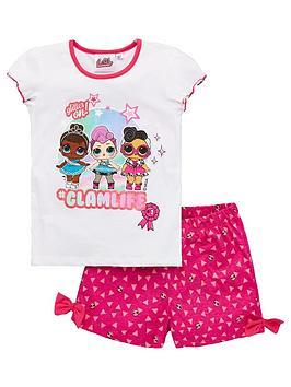 L.O.L Surprise! L.O.L Surprise! Girls Glam Life Shorty Pyjamas - White Picture