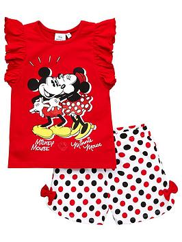 Minnie Mouse Minnie Mouse Girls Mickey Mouse &Amp; Minnie Mouse Frill  ... Picture