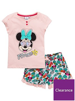minnie-mouse-girlsnbspsunglasses-shorty-pyjamas-pink