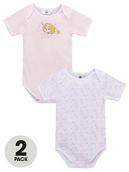 Paw Patrol Paw Patrol Baby Girl 2 Pack Bodysuits - Multi Picture