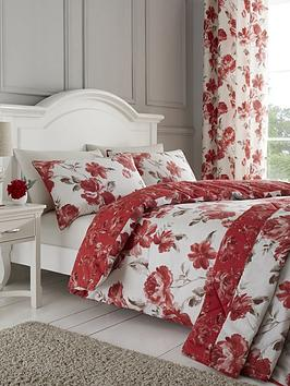 Catherine Lansfield Catherine Lansfield Painted Floral Duvet Cover Set Picture