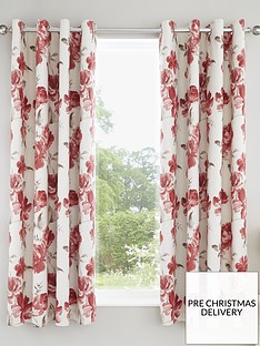 catherine-lansfield-painted-floral-eyelet-curtains