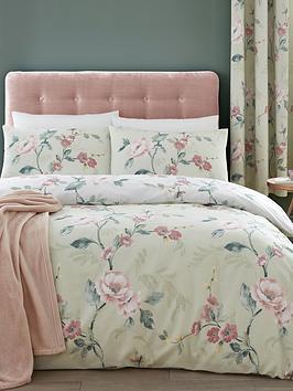 Catherine Lansfield Floral Trail Duvet Cover Set