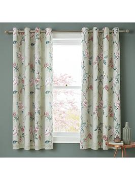 Catherine Lansfield Catherine Lansfield Floral Trail Eyelet Curtains Picture