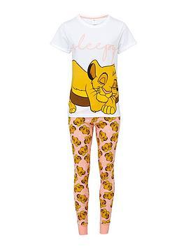 disney-lion-king-sleepy-pyjamas-print