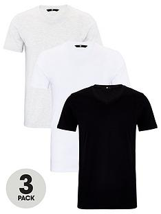 very-man-essentials-3-pack-v-neck-t-shirt-whiteblackgrey