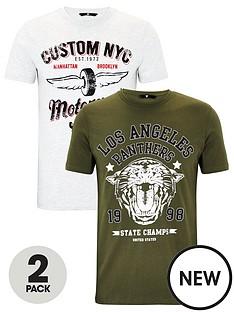 very-man-2-pack-motor-graphic-t-shirts-greygreen