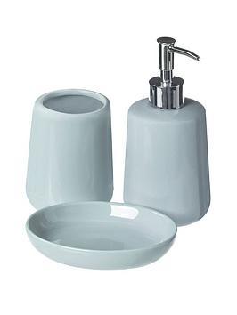 Premier Housewares Premier Housewares Moon 3-Piece Bathroom Set Picture