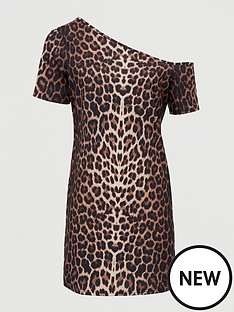 v-by-very-off-the-shouldernbsptunic-animal-print