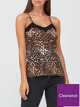 v-by-very-crinkle-lace-trim-cami-top-animal-print