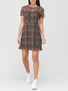 v-by-very-mesh-short-sleeve-skater-dress-animal