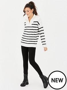 michelle-keegan-high-waist-thick-ponte-legging-black