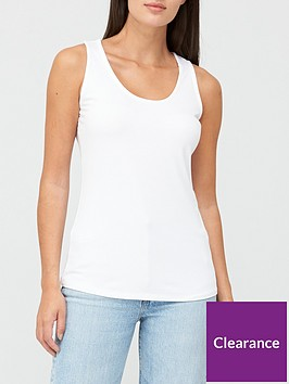 v-by-very-scoop-neck-vest-white
