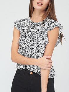 v-by-very-printed-round-neck-short-sleeve-shell-top