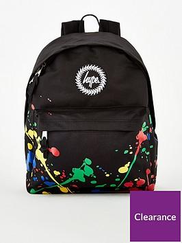 hype-boys-painter-splat-backpack-black