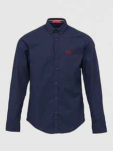boss-biado_rnbspoxford-shirt-navy