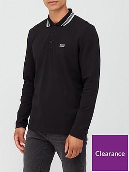 boss-plisy-tipped-collar-long-sleeve-polo-shirt-black
