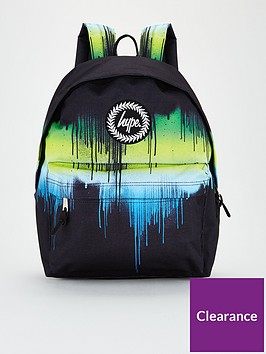 hype-boys-multi-drip-backpack-black