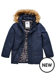 hype-boysnbspfaux-fur-parka-coat-navy