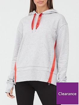 hugo-dreali-side-stripe-hoodie-grey-marl