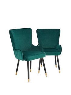 pair-of-cooper-velvet-dining-chairs