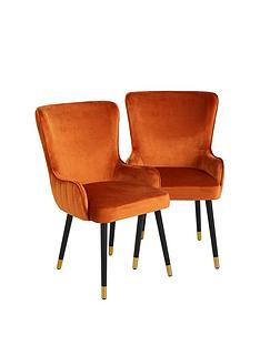 pair-of-cooper-velvet-dining-chairs