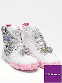 lelli-kelly-girls-wings-high-top-trainernbsp--whitesilver