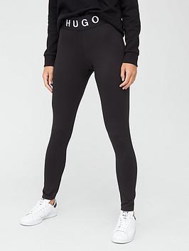 hugo-logo-waistband-leggings