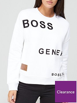 boss-casual-premium-printed-sweat-white