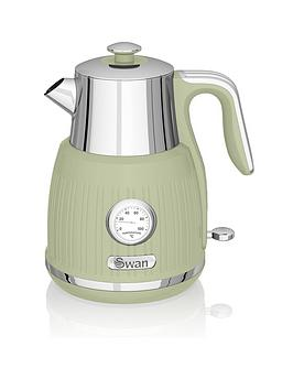 Swan Swan 1.5L Retro Dial Kettle - Green Picture