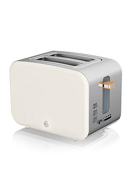 Swan Swan Nordic 2 Slice Toaster - White Picture