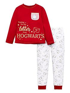 harry-potter-girlsnbspletter-from-hogwarts-pjs-burgundy